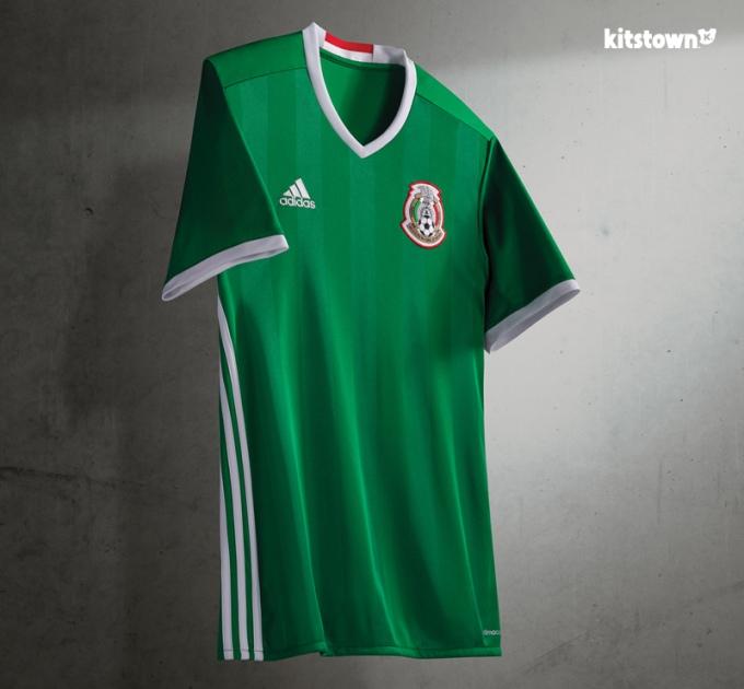 super popular 61e40 8a453 Mexico's national team 2016-17 home kit – sabo soccer jersey ...